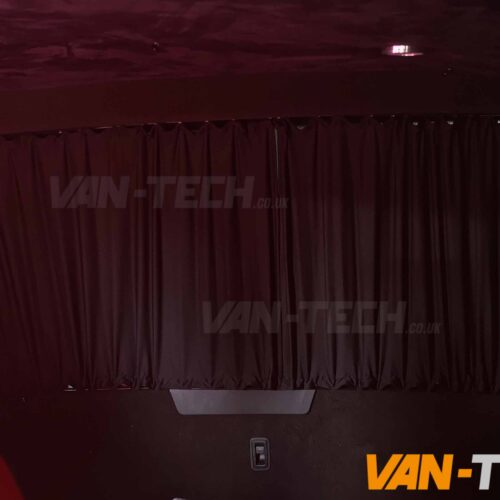 VW T6 Blackout Interior Curtain Tailgate
