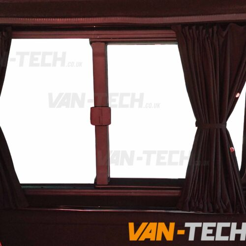 VW T6 Blackout Interior Curtain Side Loading Door