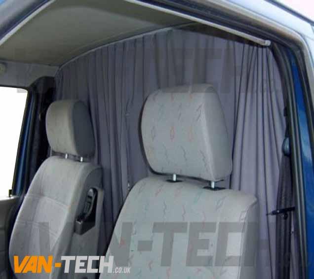 Vw T6 T6 1 Van Transporter Interior Cab Divider Curtain