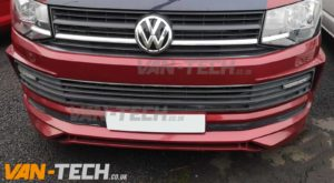 VW Transporter T6 Van Front Lower Bumper Spoiler