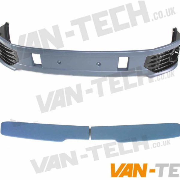 VW T5.1 Sportline Bumper and Barn Door Spoiler