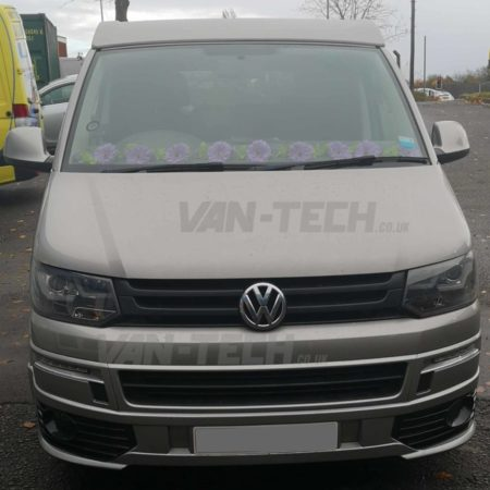 VW T5 to T5.1 Front End Conversion and Wolfrace Wheels