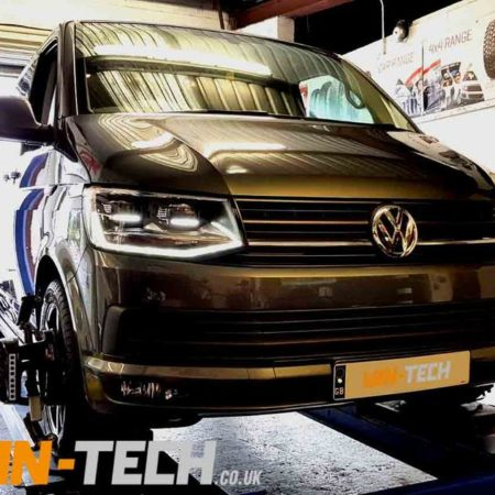 Van Tracking Hunter Hawkeye 4 Wheel Alignment by Van-Tech