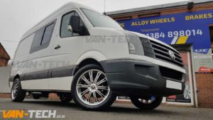 Wolfrace Vermont Alloy Wheels for VW Crafter Van