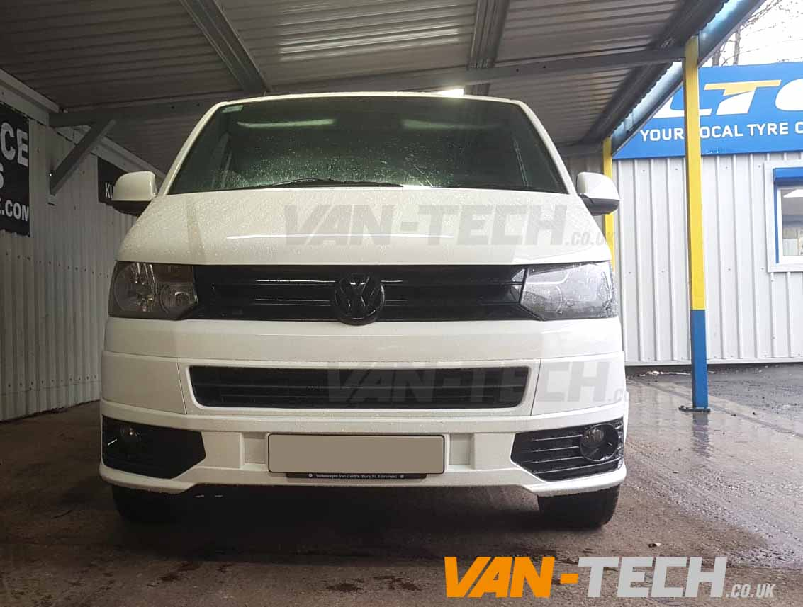 VW T5 Acessories Side Bars Spoiler and Sportline Bumper