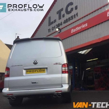 Proflow Custom Stainless Steel Exhaust VW Transporter T5