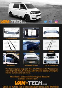 Campermart Special Offer T5 to T5.1 Facelift conversion Sportline Pack