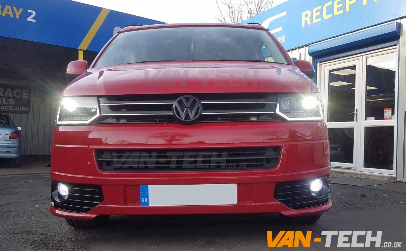 VW Transporter T5.1 Lower Front Sportline Bumper