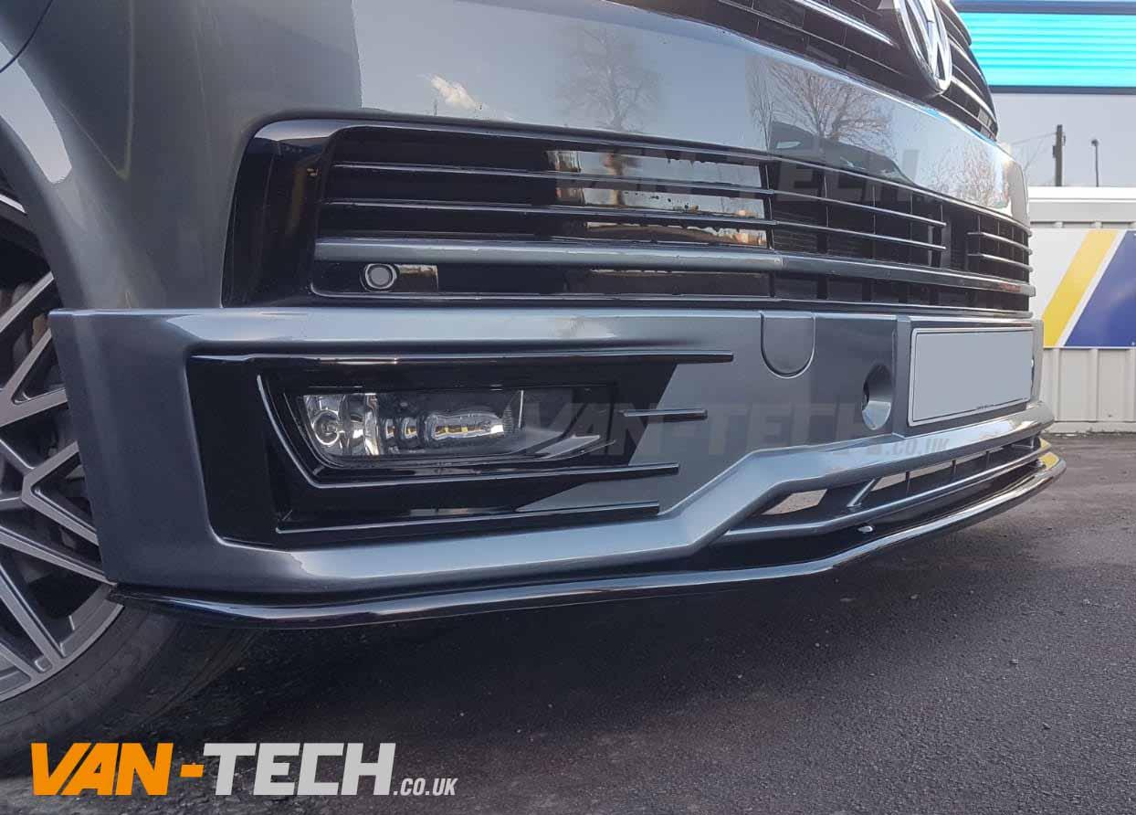 VW Transporter T6 Accessories Sportline Bumper and Splitter