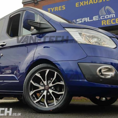 Ford Transit Custom Accessories Side Bars and Alloy Wheels