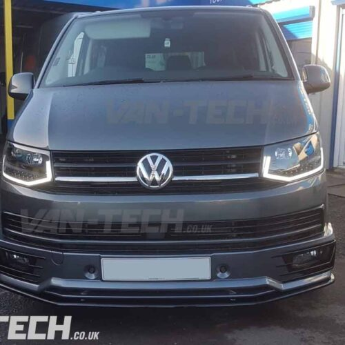 VW T6 Transporter Sportline Bumper and Lower Splitter Combo