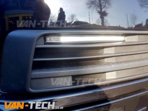VW Transporter T6 Accessories Sportline Bumper and DRL Lights