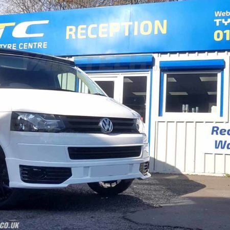 VW Transporter T5.1 Sportline Front Lower Bumper