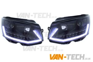 IN STOCK NOW VW Transporter T6 LED DRL Light Bar Headlights