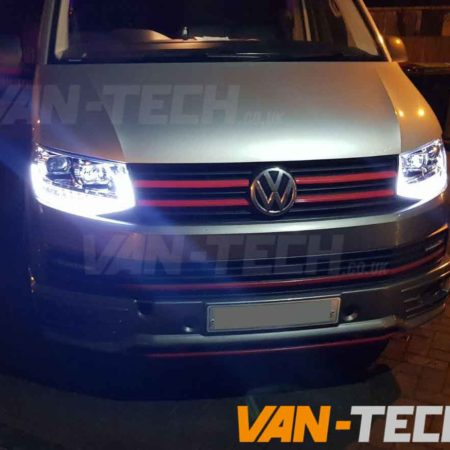 IN STOCK NOW VW Transporter T6 LED DRL Light Bar Headlights