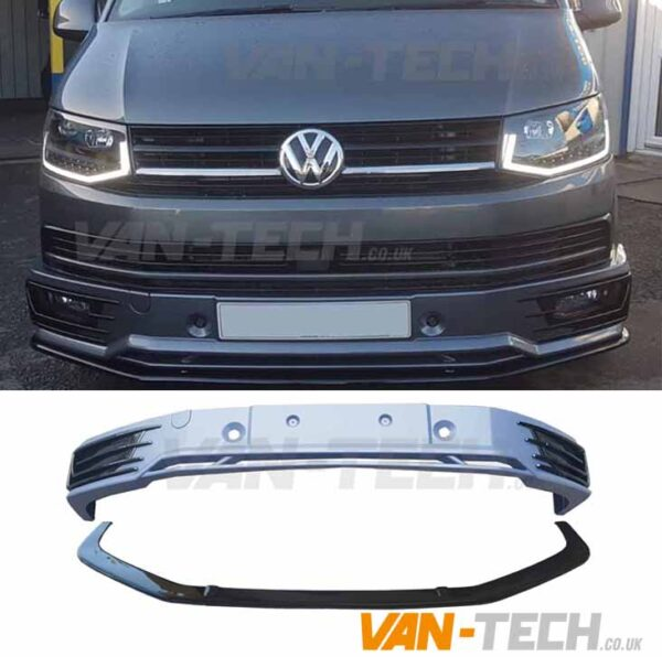 VW Transporter T6 Front Sportline Bumper and Lower Splitter