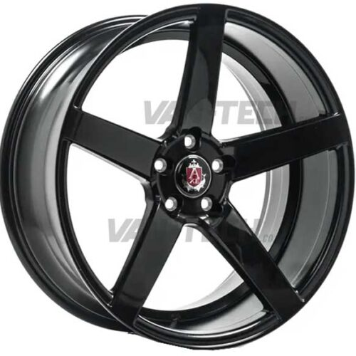 "VW T5 T5.1 T6 Axe EX-18 Alloy Wheels 20"" Gloss Black"