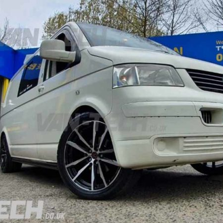 VW T5 Accessories Alloy Wheels, Lowering Kit and Side Bars