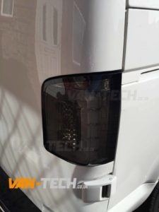 Vw T5 1 T6 Led Smoked Barn Door Replacement Rear Lights