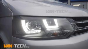 VW T5.1 fitted with lots of Van-Tech Accessories