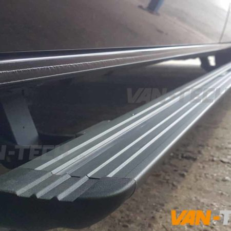 VW Transporter T6 Electric Side Step Bars coming soon to Van-Tech