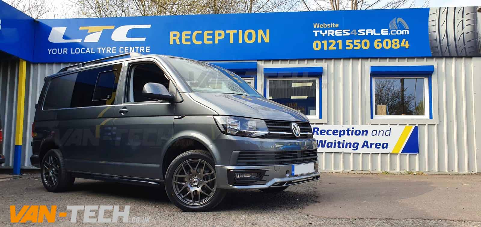 Vw Transporter T6 Parts And Accessories Van Tech