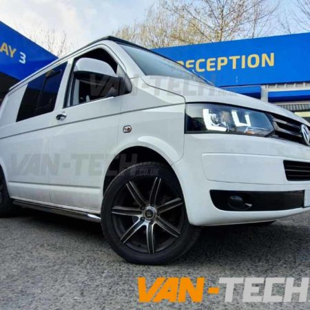 VW Transporter T5.1 Sportline Side Bars and Lightbar Headlights