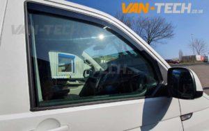 VW T6 DRL's Side Bars Wind Deflectors and Bumper Trim