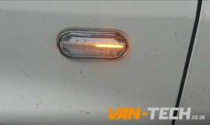 VW T5 T5.1 Transporter Clear Dynamic Side Repeaters