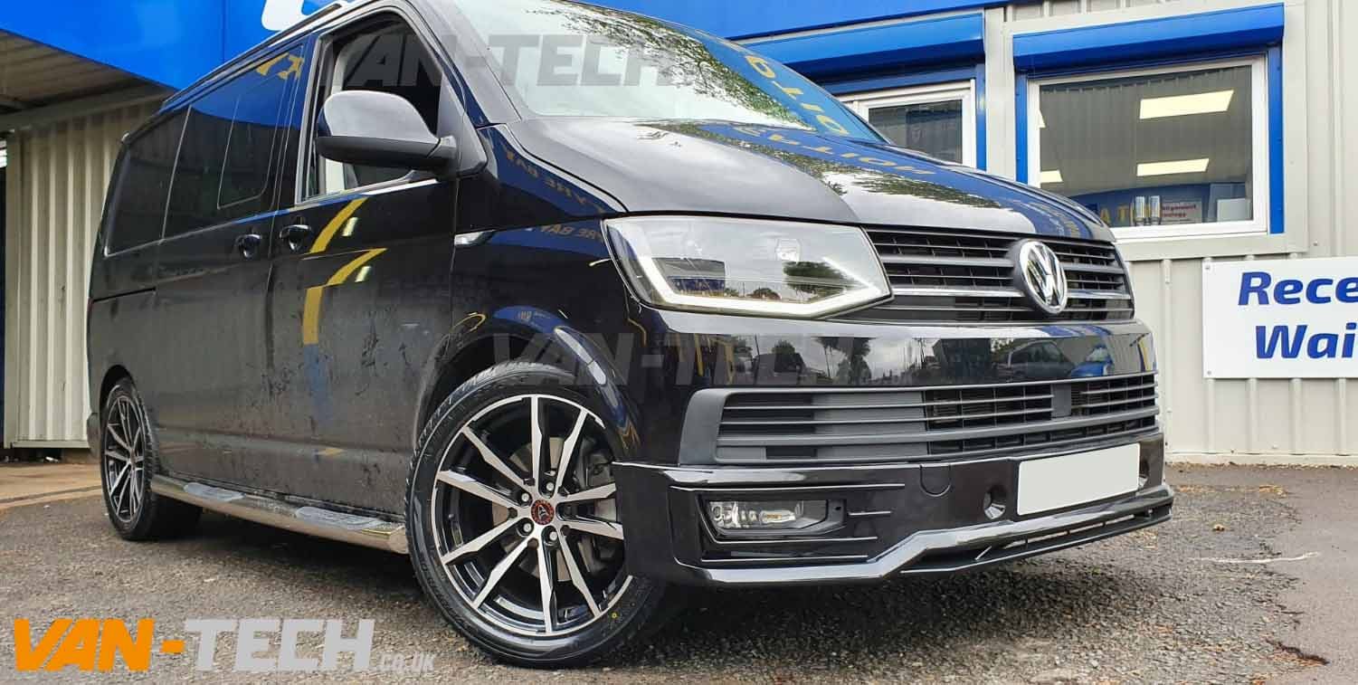 VW Transporter T6 Accessories including Wheels