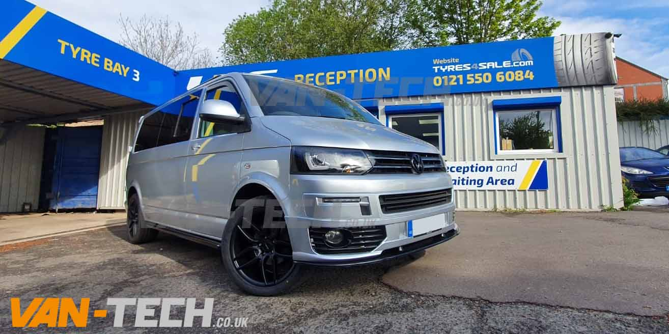 VW Transporter T5.1 fitted with lots of Van-Tech Accessories