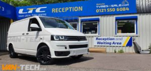 VW T5 to T5.1 Transporter Front End conversion and accessories