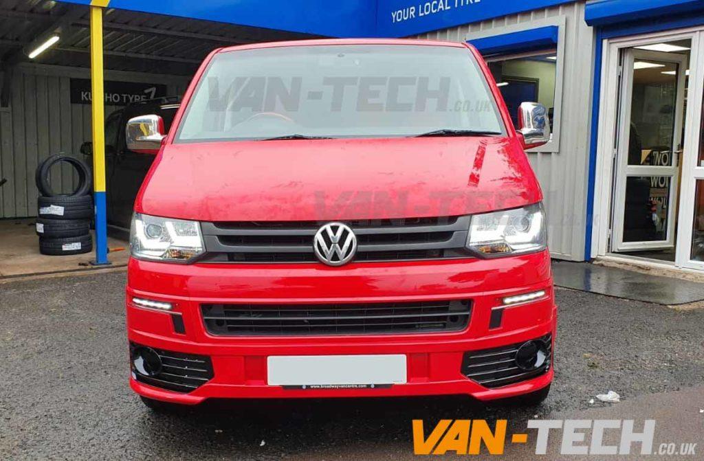 VW T5 to T5.1 Transporter Front Sportline Conversion