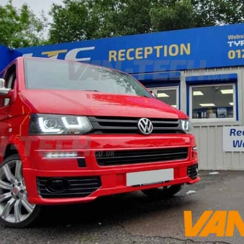 VW T5 to T5.1 Transporter Front Sportline Conversion