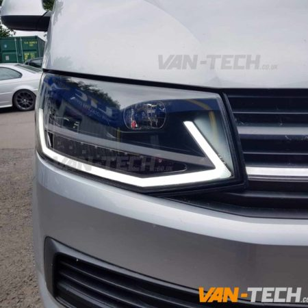 VW Transporter T6 LED DRL Light Bar Headlights