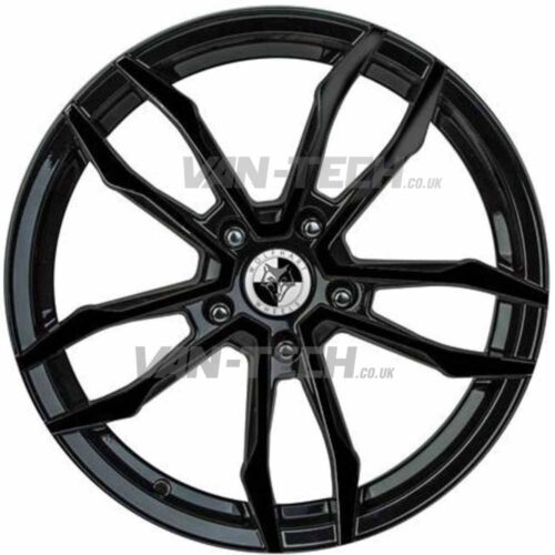 Wolfhart VT5 Alloys Wheels 18″ VW T5 T5.1 T6 Polished / Black