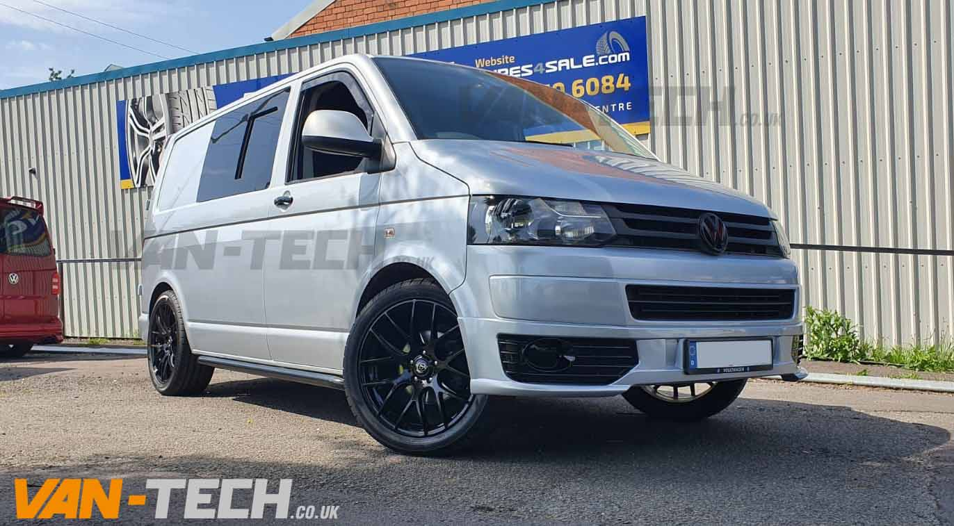 VW T5 T5.1 Side Bars Black Sportline O.E Style SWB LWB Transporter