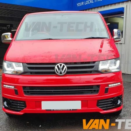 VW T5.1 Transporter Light Bar Headlights and Daytime Running Lights LED pack