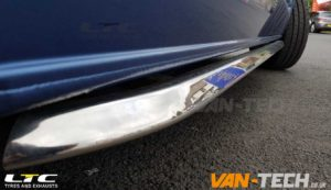 VW Transporter T6 Accessories Side Bars and Alloy Wheels