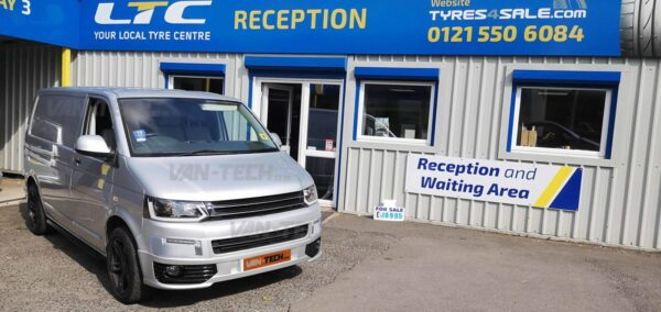 VW T5 to T5.1 Transporter Front End Conversion kit new style Lightbar Headlights