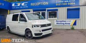 VW Transporter T5.1 Front End Upgrade parts supplied painted and fitted