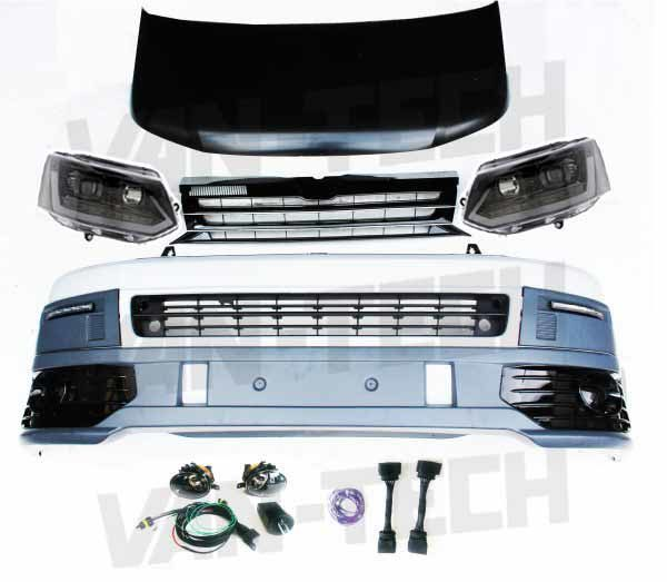 VW T5 to T5.1 Transporter Front End Conversion