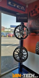 VW Transporter T5 T5.1 and T6 Alloy Wheels available at Van-Tech