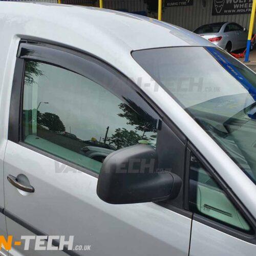 VW Caddy Side Window Wind Deflectors