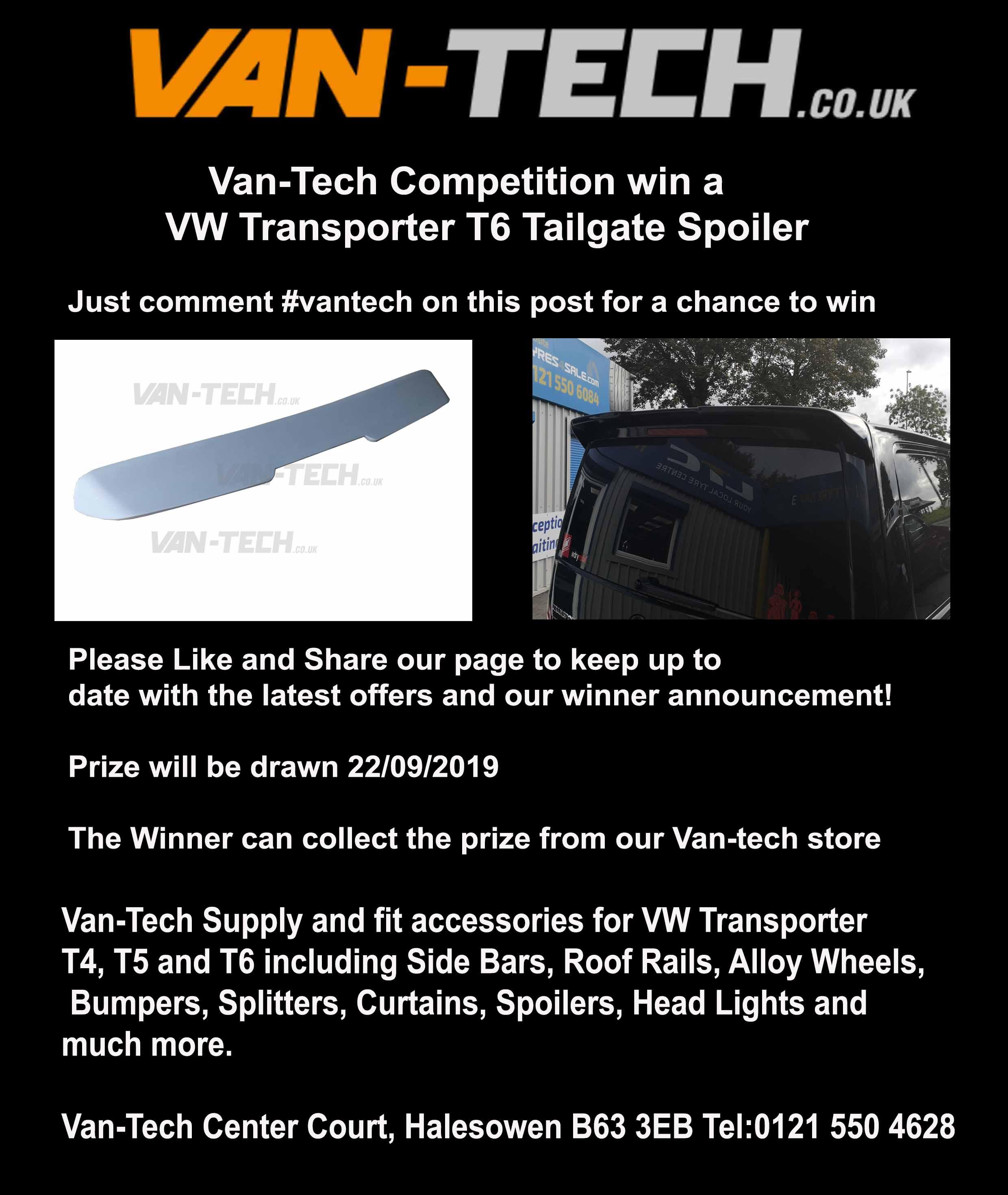 Van-Tech Competition win