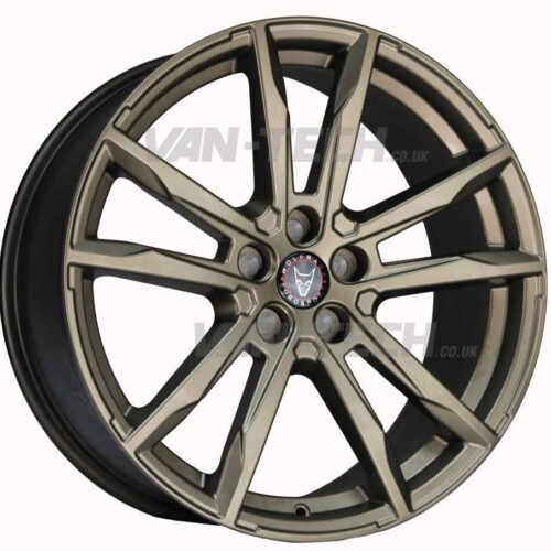 "VW T5 T5.1 T6 Wolfrace Dortmund 20"" Alloy Wheels Bronze"