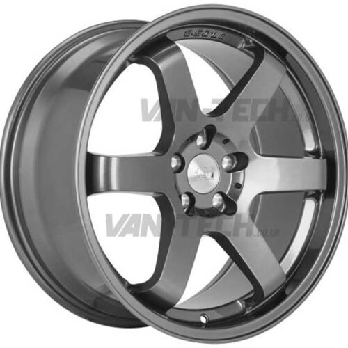 "VW T5 T5.1 T6 1AV ZX6 Alloy Wheels 18"" Gun Metal"