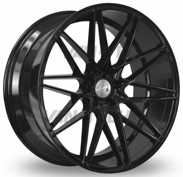 VW T5 T5.1 T6 1AV ZX4 Alloy Wheels 20″ Gloss Black