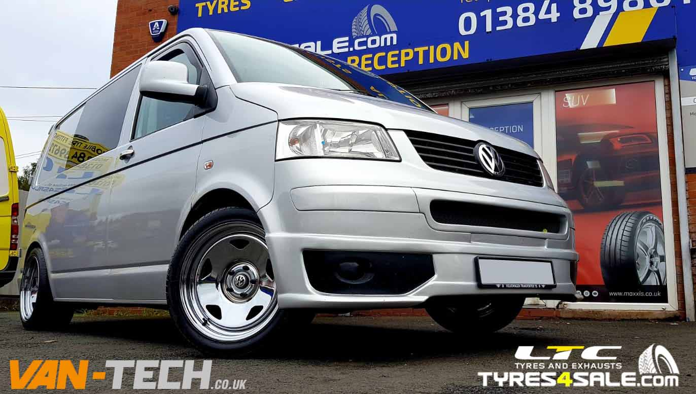 Banded Steel Wheel and tyres fitting service by Van-Tech.co.uk