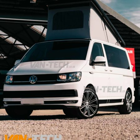 VW T5 T5.1 T6 Calibre CC-I 20″ Alloy Wheels Gun Metal